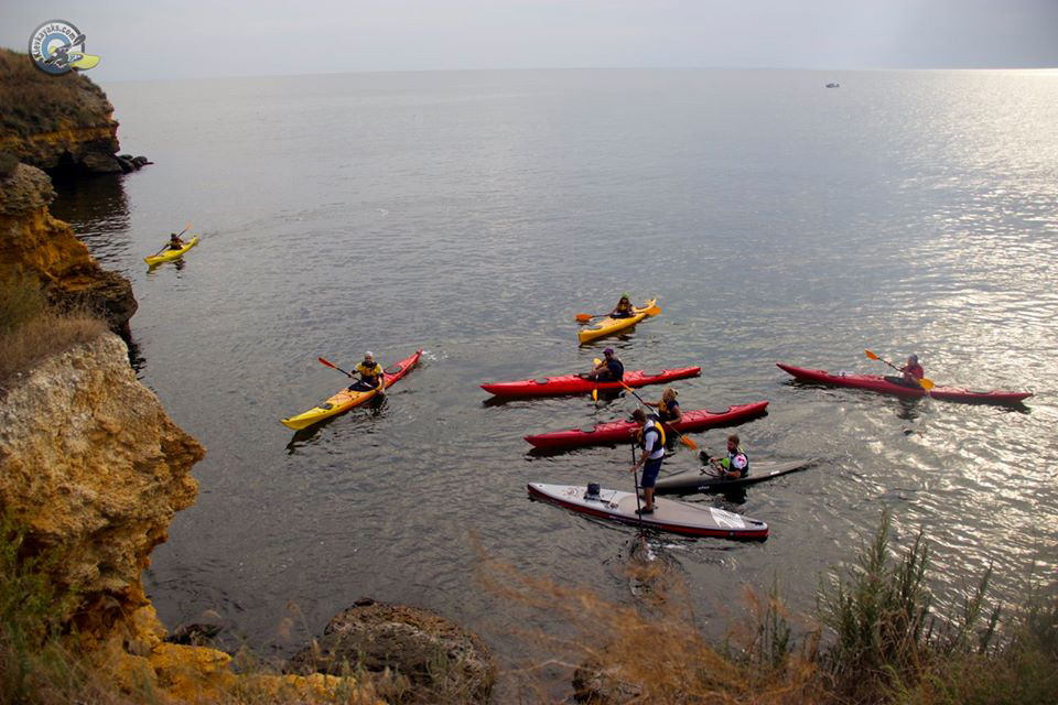 sea kayak tour ukraine black sea